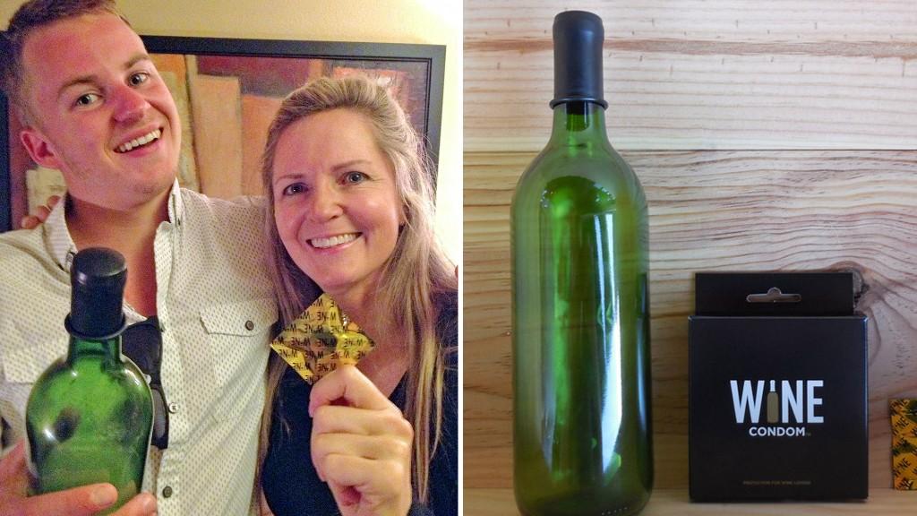 Quot Wine Condom Quot Bottle Stopper Social Media Launched My