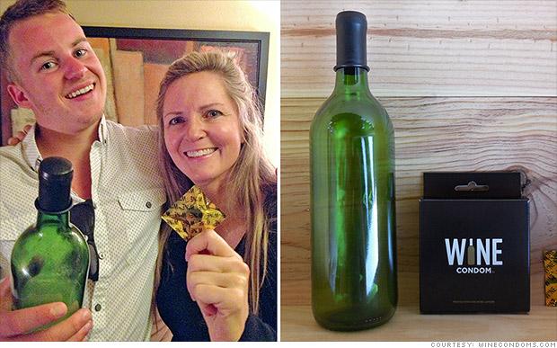 social media biz wine condom