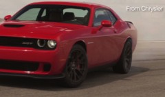 See and hear the Dodge's 707 horsepower
