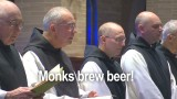 Monks brewing beer!