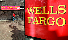 Wells Fargo is lending its mountain of cash