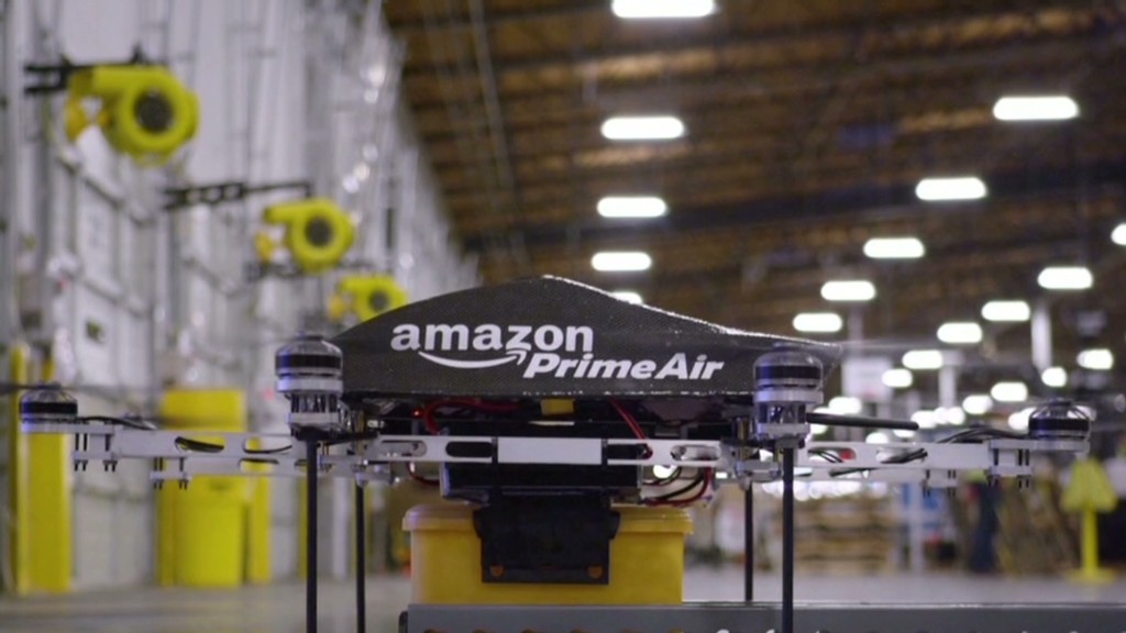 Amazon asks FAA to test delivery drones