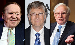 Adelson, Gates & Buffett push Congress