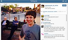 Teens' pic of Buffett, McCartney goes viral