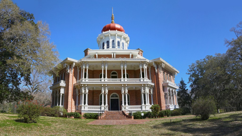 Natchez trace parkway roadside attractions 6 great for Longwood house