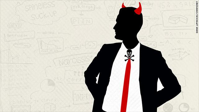 Existen al menos seis clases de jefes despreciables