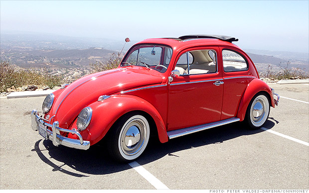 Innovative Auto Finance >> The classic VW Beetle goes electric - Jul. 17, 2014