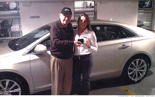 Warren Buffett Buys A New Caddy Jul 15 2014