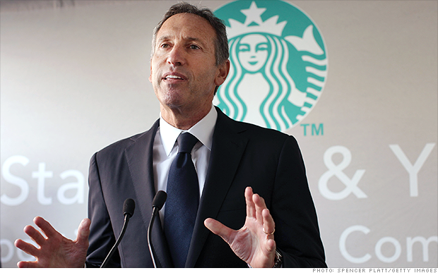 starbucks ceo schultz