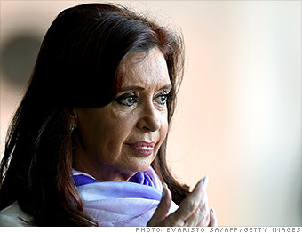 hedge funds christina kirchner