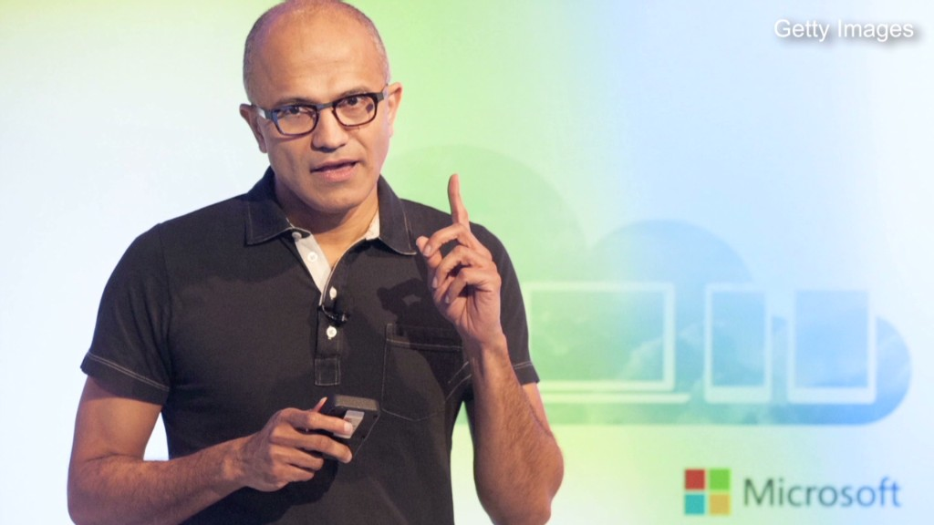 Microsoft's Nadella swings the ax