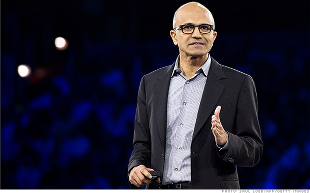 Nadella officially puts his stamp on Microsoft
