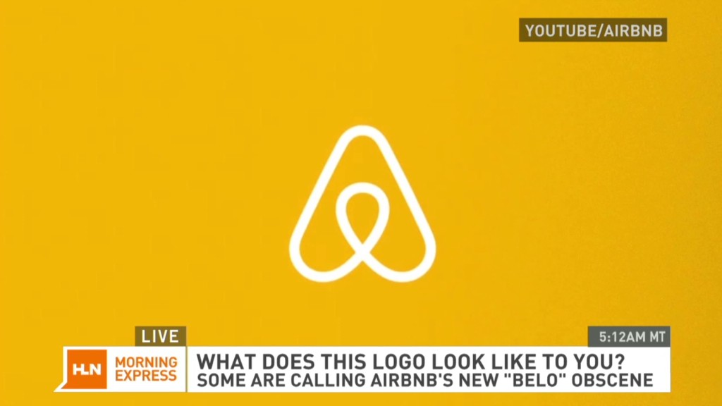 Airbnb's new logo; crude or creative?