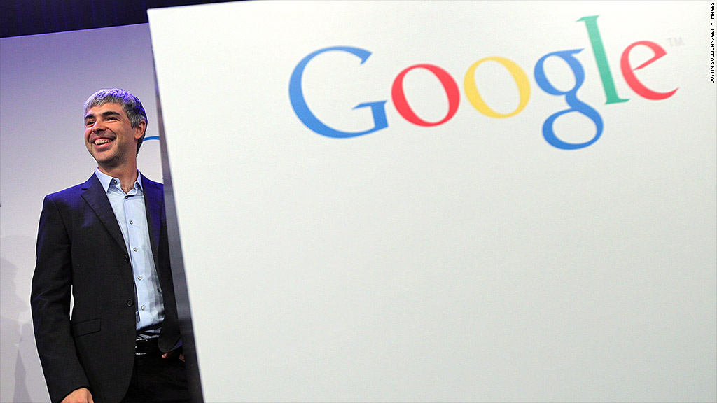 larry page google earnings