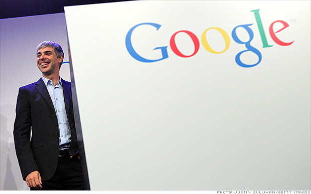 larry page google earnings