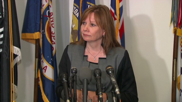 GM CEO on victims excluded from payout plan