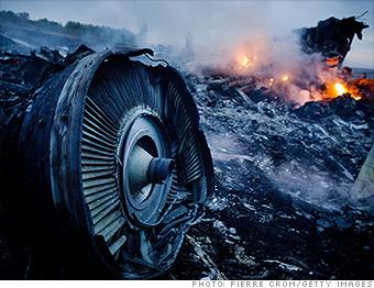 market scare ukraine malaysia plane crash