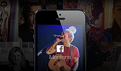 Facebook app for celebrities only