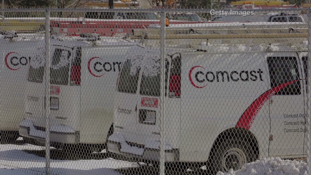 Comcast: Poor service, good stock