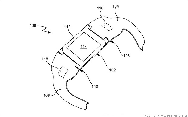 Is this Apple's new iWatch?