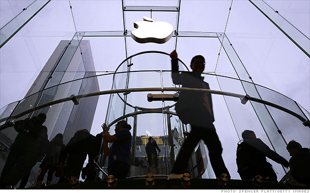 Apple profit soars but iPads slump