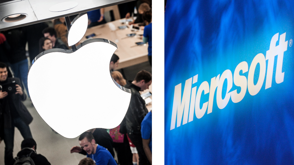 Apple & Microsoft: Both kicking butt