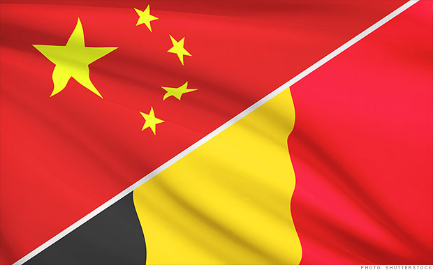 belgian chinese flag