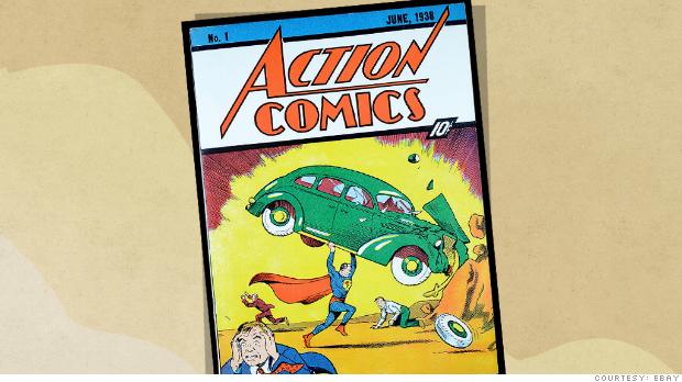 ebay superman comic