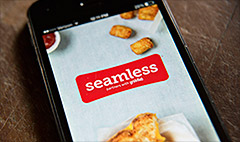 Seamless tops Starbucks for travelers
