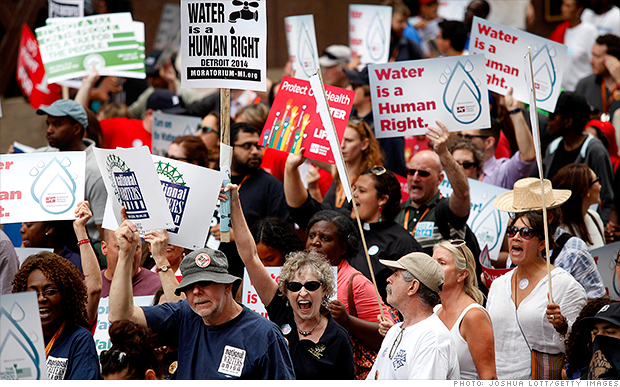 #DetroitWater: Keep Detroiters' water on!