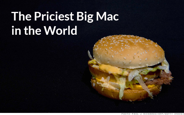 Introducing the $7.76 Big Mac