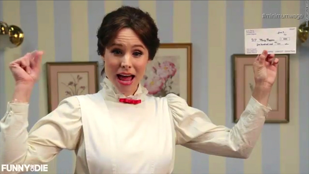 kristin bell mary poppins