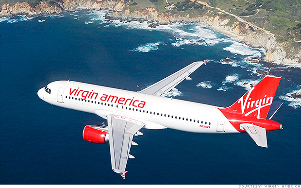 Virgin America files for IPO
