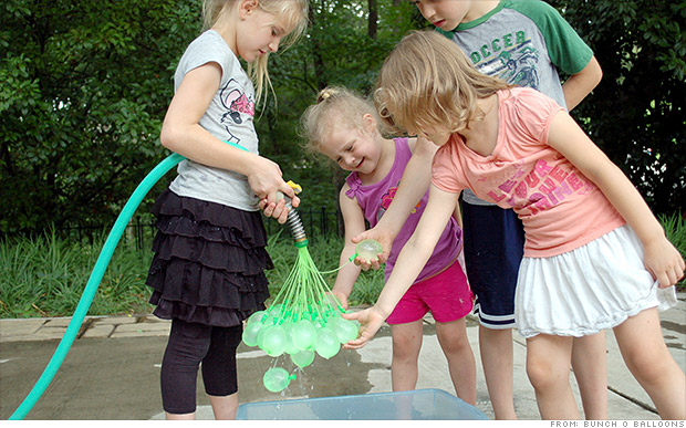 Water balloon lovers pledge $645,000 on Kickstarter