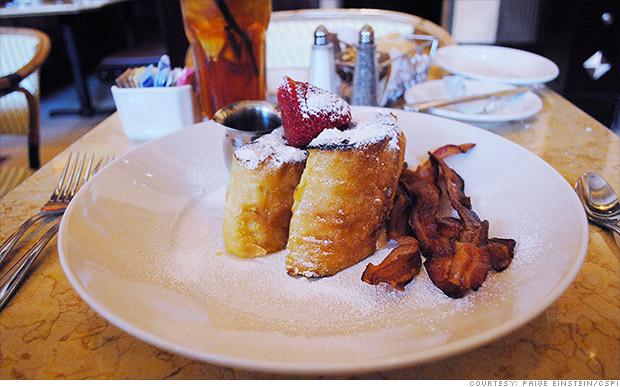 extreme food bruleed toast