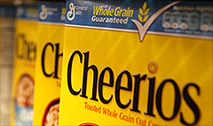 General Mills to demand suppliers cut greenhouse gases