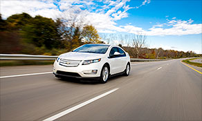 Chevy Volt is insurer's Top Safety Pick