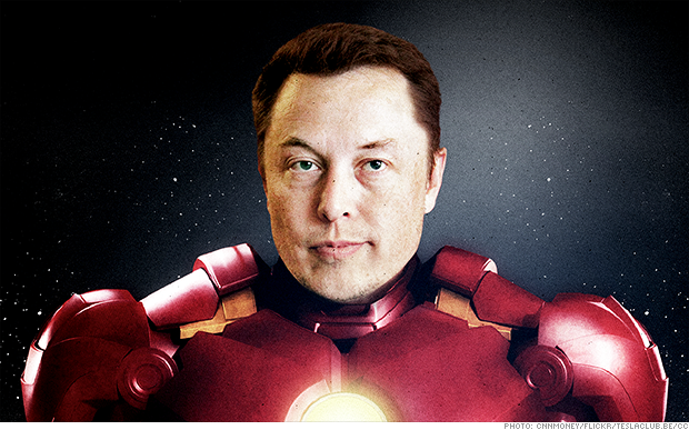 Tesla CEO Elon Musk is the real Iron Man