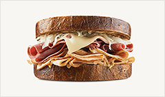 Arby's: More meat is mightier