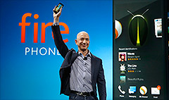 Amazon's Fire phone: a shopping device that makes calls