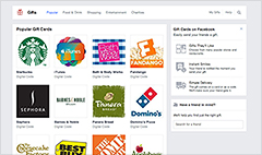 Facebook cans birthday gift requests