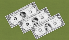 Women on U.S. currency? 'A pretty good idea,' says Obama