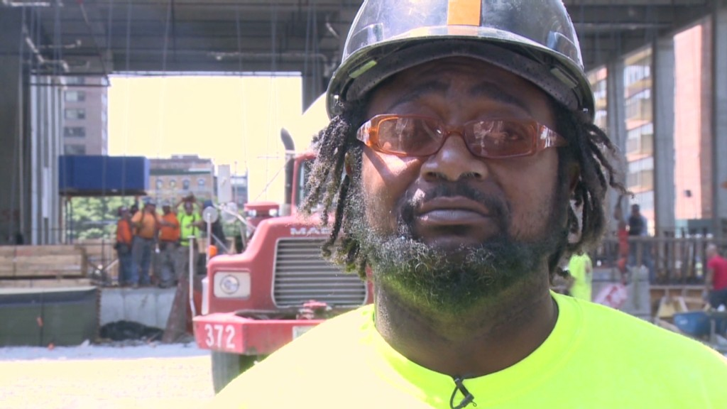 Construction workers on jobs: 2009 vs. now