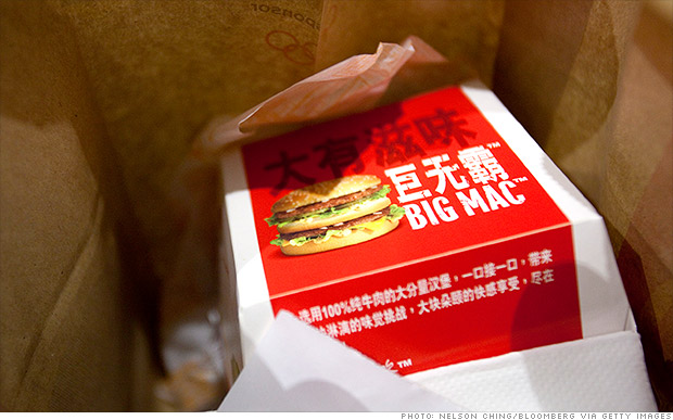 china big mac