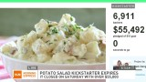 $55,000 potato salad Kickstarter