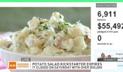 $55,000 potato salad Kickstarter