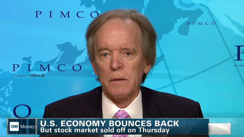 Bill Gross: 'Stocks are fully priced'