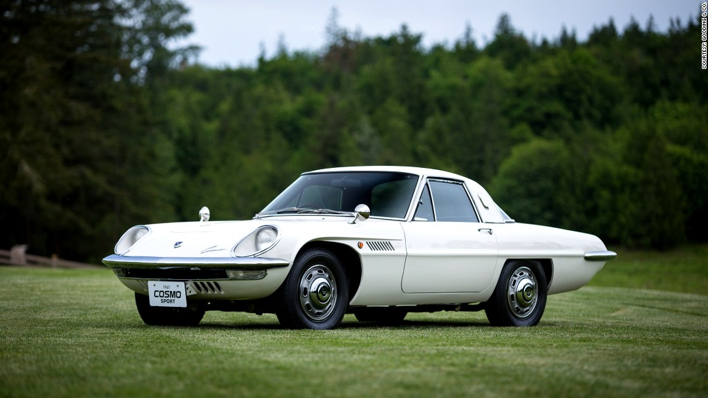 Mazda Cosmo Sport Coolest Cars From Pebble Beach CNNMoney - Cool mazda cars