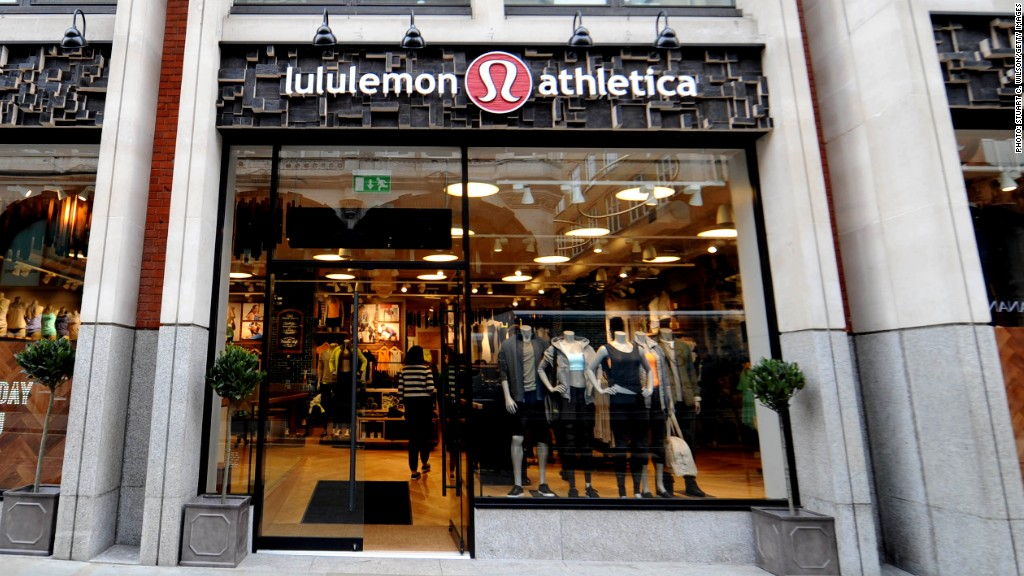 lululemon stock