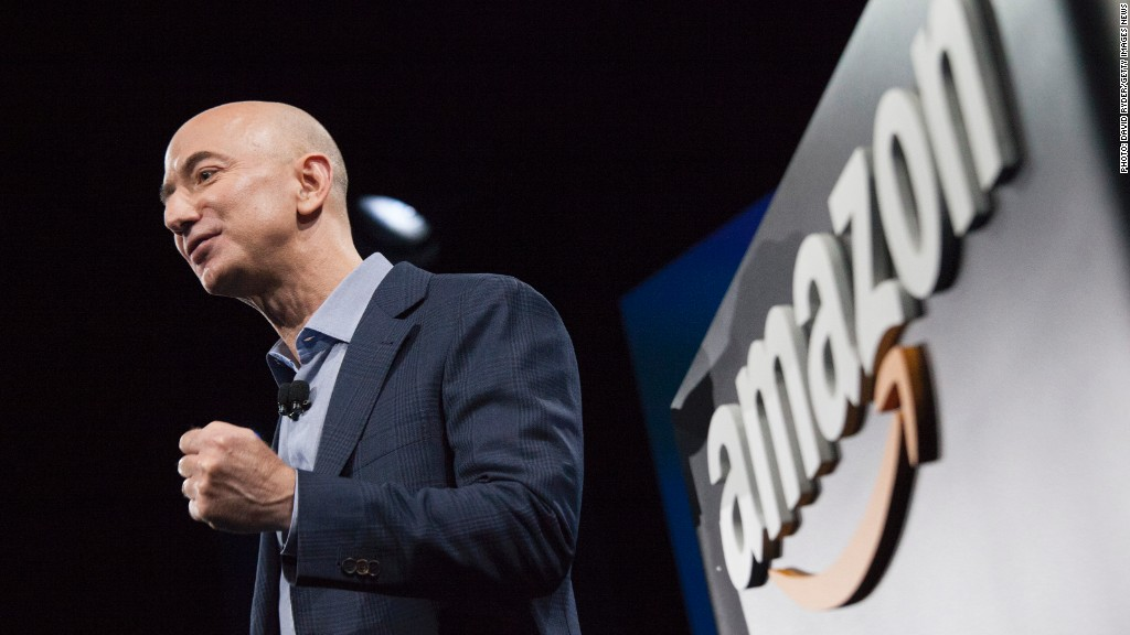 How involved is Jeff Bezos in Amazon Studios?